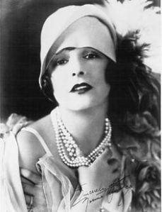 glamorous vintage woman