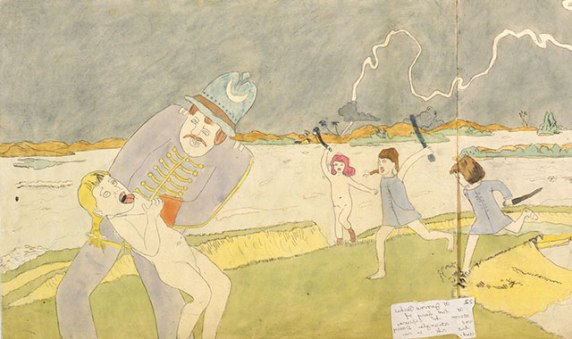 "Henry Darger from ""In the Realms of the Unreal"""