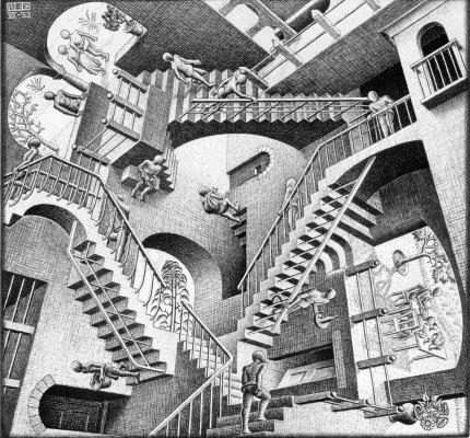 M.C. Escher: Relativity