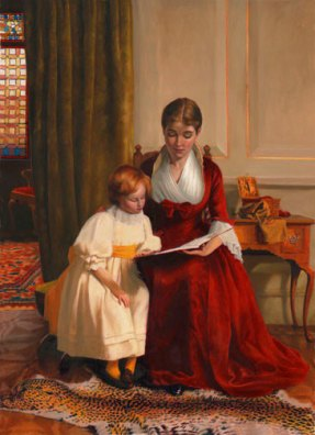 Mother-and-Child-reading