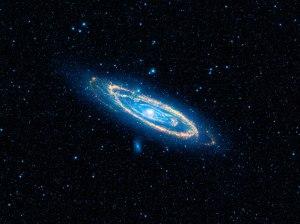 immense Andromeda galaxy