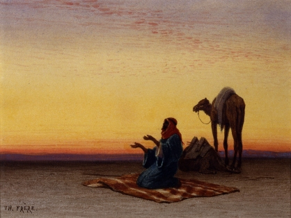 praying-in-desert